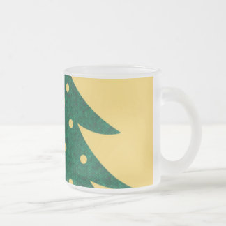 christmas tree,yellow mug