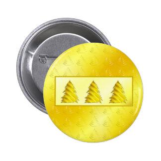 Christmas Tree Yellow Pins