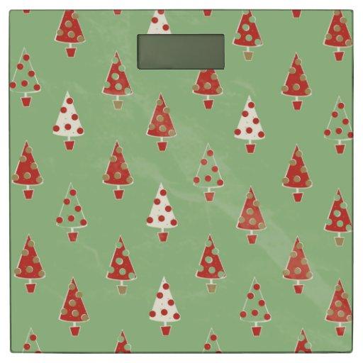 Christmas Trees Bathroom Scale