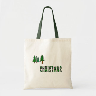 Christmas Trees Canvas Bags