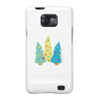 Christmas Trees Galaxy S2 Case