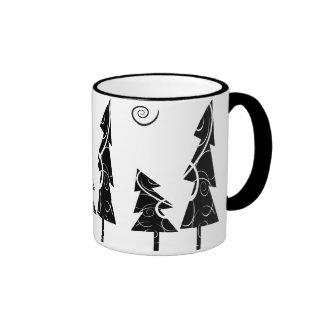 Christmas Trees Coffee Mugs