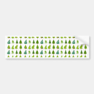 Christmas Trees gifts.png Bumper Sticker