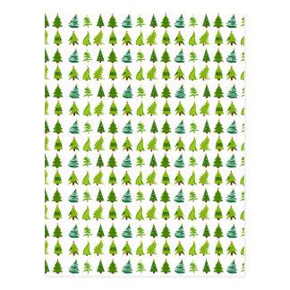 Christmas Trees gifts.png Postcard