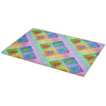 CHRISTMAS TREES Glass Cutting Boards