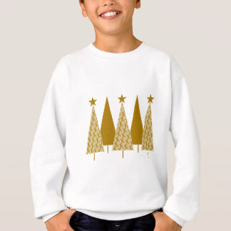 Christmas Trees - Gold Ribbon Sweatshirt