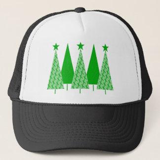Christmas Trees - Green Ribbon Liver Cancer Trucker Hat