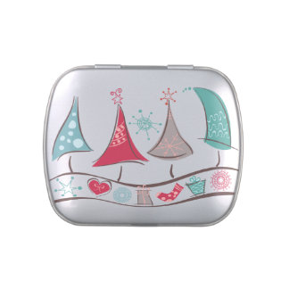 Christmas Trees Holiday  Jelly Belly™ Candy Tin