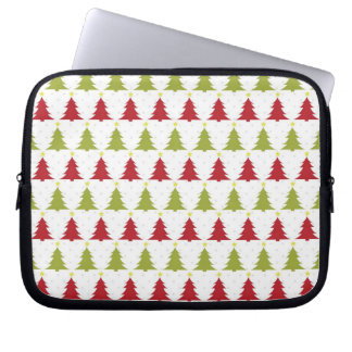 Christmas Trees Holiday Laptop & Netbook Sleeves