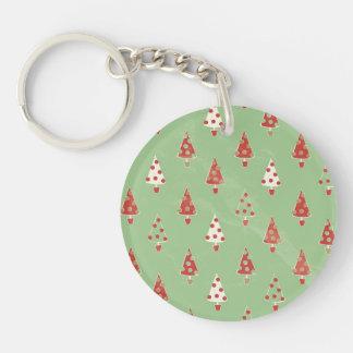 Christmas Trees Keychain