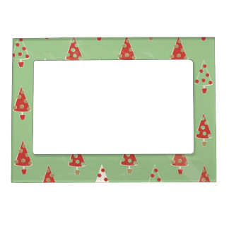 Christmas Trees Magnetic Picture Frame