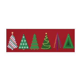 Christmas Trees, Oh Christmas Trees Canvas Print