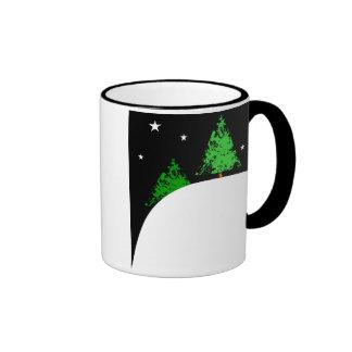 Christmas trees on a Hill #2 Mug