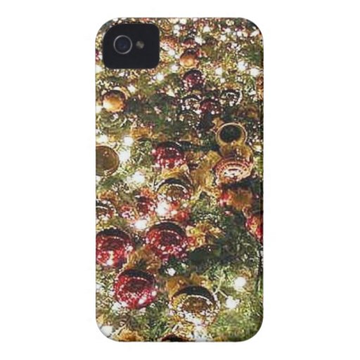 Christmas Trees Orniments Case-Mate iPhone 4 Cases