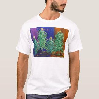 Christmas Trees Painting T-Shirt