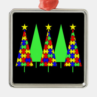 Christmas Trees - Puzzle Ornament
