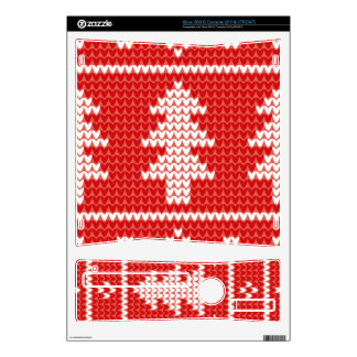 Christmas Trees Red Jumper Knit Pattern Skins For The Xbox 360 S