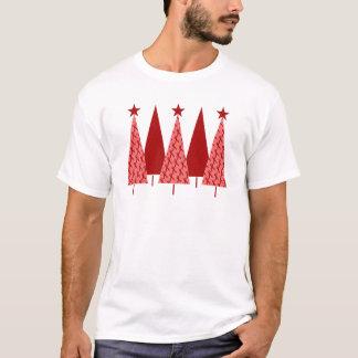 Christmas Trees - Red Ribbon AIDS & HIV T-Shirt