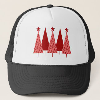Christmas Trees - Red Ribbon AIDS & HIV Trucker Hat