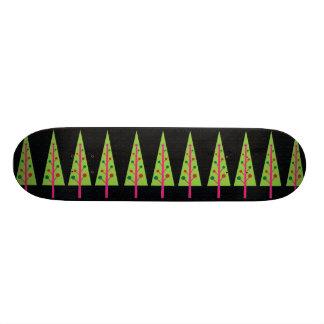 Christmas Trees Skateboard