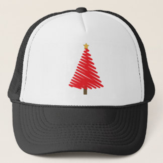 Christmas Trees Theme Trucker Hat