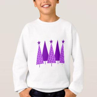 Christmas Trees - Violet Ribbon Sweatshirt