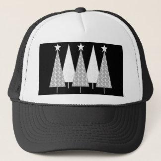 Christmas Trees - White Ribbon Trucker Hat
