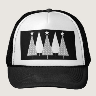Christmas Trees - White Ribbon Trucker Hat