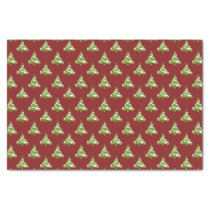 christmas trees winter holiday pattern tissue paper