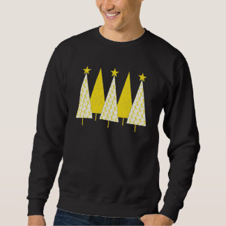 Christmas Trees - Yellow Ribbon Sweatshirt