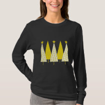 Christmas Trees - Yellow Ribbon T-Shirt