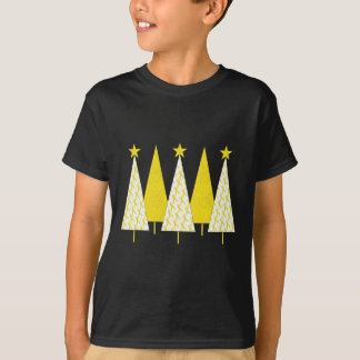 Christmas Trees - Yellow Ribbon T-Shirt