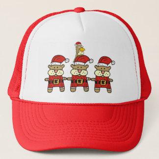 Christmas:Trio Plus One Trucker Hat
