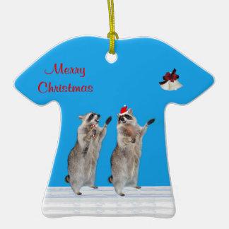 Christmas Tshirt Ornament