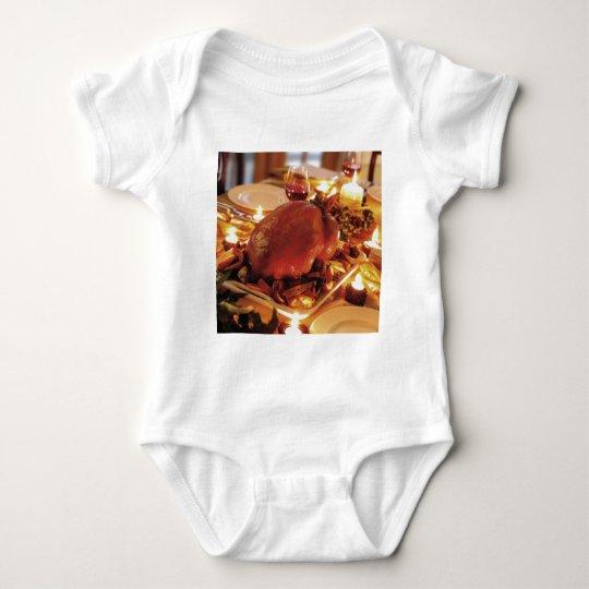 Christmas Turkey Baby Bodysuit