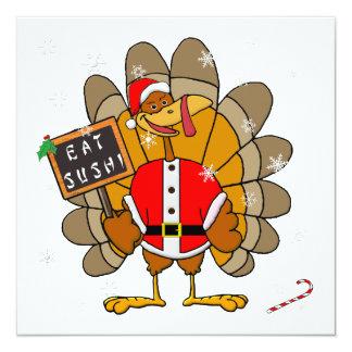 Christmas Turkey Invitation