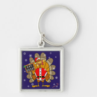 Christmas Turkey Keychain