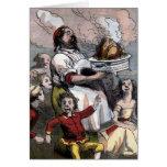 """""""Christmas Turkey"""" Vintage Illustration Cards"""