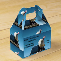 Christmas Turkey Who Thinks He Is A Chicken, Favor Box