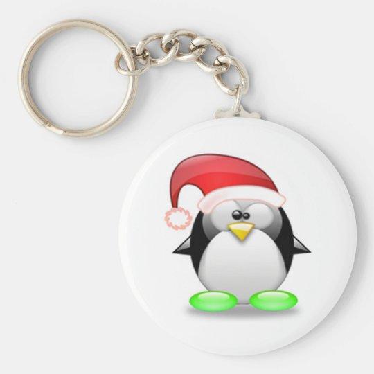 Christmas Tux Keychain
