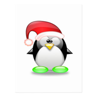 Christmas Tux Post Cards