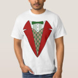 Christmas Tuxedo, Red and Green Elf Tee Shirts