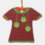 Christmas Ugly Sweater Award Ornament
