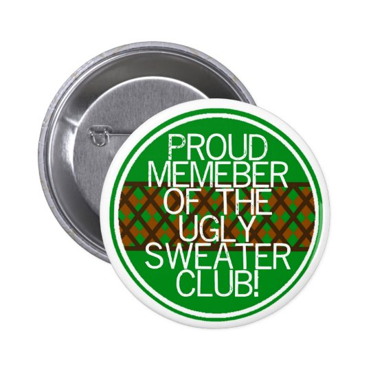 Christmas ugly sweater Gifts Button