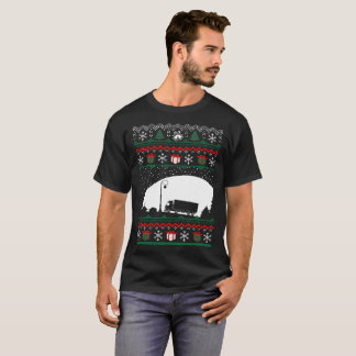 Christmas Ugly Sweater Ice Road Truker Tshirt