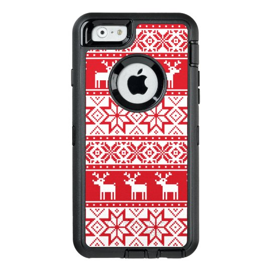 0406410e0 Christmas ugly Sweater iPhone 6 6s case