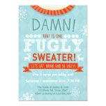 Christmas Ugly sweater party Fugly Sweater red Invitation