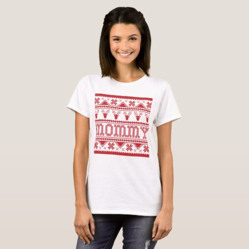 Christmas Ugly Xmas Sweater Mommy After Christmas Sales 5485
