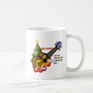 Christmas Ukulele Shirt Mug