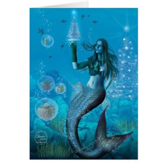 Christmas Under the Sea (Card) Card